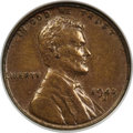 Lincoln Cents, 1943-S 1C Struck on a Bronze Planchet AU53 NGC....