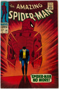 Silver Age (1956-1969):Superhero, The Amazing Spider-Man #50 (Marvel, 1967) Condition: VG/FN....