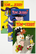Silver Age (1956-1969):Cartoon Character, Tom and Jerry File Copies Group of 55 (Gold Key, 1958-79) Condition: Average VF-.... (Total: 55 )