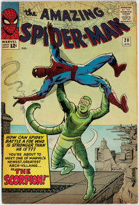 The Amazing Spider-Man #20 (Marvel, 1965) Condition: VG-