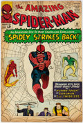 Silver Age (1956-1969):Superhero, The Amazing Spider-Man #19 (Marvel, 1964) Condition: VG....