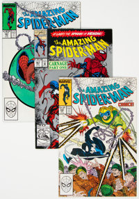 The Amazing Spider-Man Group of 35 (Marvel, 1985-2007) Condition: Average VF.... (Total: 35 Comic Books)