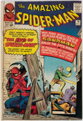 Silver Age (1956-1969):Superhero, The Amazing Spider-Man #18 (Marvel, 1964) Condition: VG.
