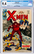 Silver Age (1956-1969):Superhero, X-Men #32 (Marvel, 1967) CGC NM 9.4 White pages....