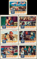 """Movie Posters:Adventure, King Richard and the Crusaders (Warner Brothers, 1954). Very Fine-. Lobby Cards (7) (11"""" X 14""""). Adventure.. ... (Total: 7 Items)"""