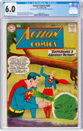 Silver Age (1956-1969):Superhero, Action Comics #262 (DC, 1960) CGC FN 6.0 Off-white pages....