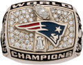Football Collectibles:Others, 2001 New England Patriots Super Bowl XXXVI Championship Ladies' Ring....