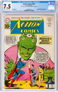 Silver Age (1956-1969):Superhero, Action Comics #280 (DC, 1961) CGC VF- 7.5 Cream to off-white pages....