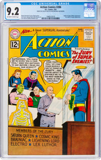 Action Comics #286 (DC, 1962) CGC NM- 9.2 Off-white to white pages