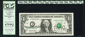 Small Size:Federal Reserve Notes, Dual Courtesy Witherow-Rubin Autographed Fr. 1922-I $1 1995 Federal Reserve Note. PCGS Superb Gem New 67PPQ.. ...