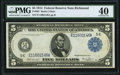 Large Size:Federal Reserve Notes, Fr. 861 $5 1914 Federal Reserve Note PMG Extremely Fine 40.. ...