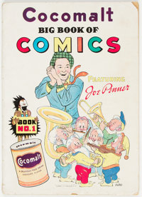 Cocomalt Big Book of Comics #1 (Chesler, 1938) Condition: GD