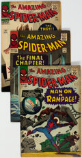 Silver Age (1956-1969):Superhero, The Amazing Spider-Man Group of 9 (Marvel, 1966-67) Condition: Average VG+.... (Total: 9 Comic Books)