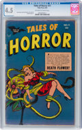 Golden Age (1938-1955):Horror, Tales of Horror #11 (Toby Publishing, 1954) CGC VG+ 4.5 Off-white to white pages....