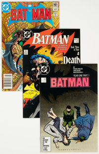 Batman Group of 43 (DC, 1983-97) Condition: Average NM-.... (Total: 43 )