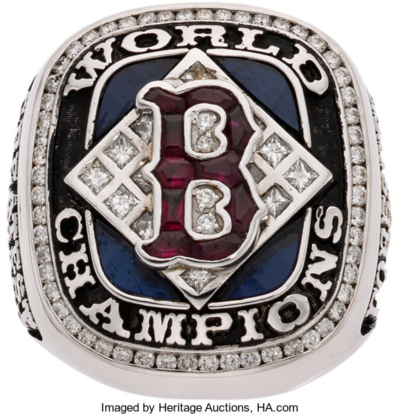 2004 Boston Red Sox World Championship Ring Presented to