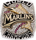 Baseball Collectibles:Others, 2003 Florida Marlins World Series Championship Ring....