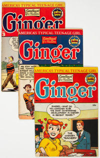Ginger Group of 7 (Archie, 1951-54) Condition: Average VG-.... (Total: 7 )