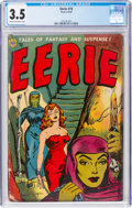 Golden Age (1938-1955):Horror, Eerie #15 (Avon, 1954) CGC VG- 3.5 Cream to off-white pages....