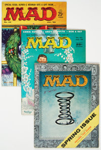 MAD Group of 11 (EC, 1956-60) Condition: Average FN+.... (Total: 11 Comic Books)