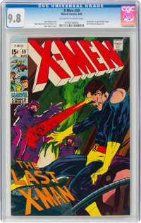 X-Men #59 (Marvel, 1969) CGC NM/MT 9.8 Off-white to white pages