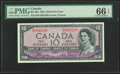 Canadian Currency, Canada Bank of Canada $10 1954 BC-32a Devil's Face...