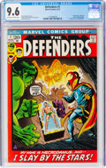 Bronze Age (1970-1979):Superhero, The Defenders #1 (Marvel, 1972) CGC NM+ 9.6 Off-white to white pages....