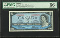 Canadian Currency, Canada Bank of Canada $5 1954 BC-39aA Replacement ...