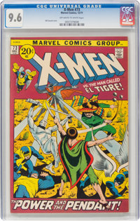 X-Men #73 (Marvel, 1971) CGC NM+ 9.6 Off-white to white pages