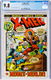X-Men #78 (Marvel, 1972) CGC NM/MT 9.8 Off-white to white pages