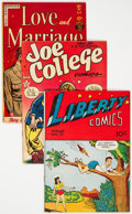 Golden Age (1938-1955):Humor, Golden Age Romance/Teen Humor Comics Group of 4 (Various, 1940s-50s).... (Total: 4 Comic Books)