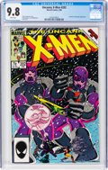 Modern Age (1980-Present):Superhero, X-Men #202 (Marvel, 1986) CGC NM/MT 9.8 White pages....