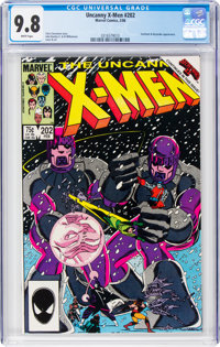 X-Men #202 (Marvel, 1986) CGC NM/MT 9.8 White pages
