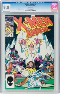 X-Men Annual #8 (Marvel, 1984) CGC NM/MT 9.8 White pages