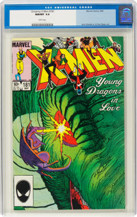 X-Men #181 (Marvel, 1984) CGC NM/MT 9.8 White pages
