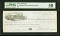 Obsoletes By State:Iowa, Dubuque, IA- Dubuque Western Railroad Company $5 Oct. 20, 1857 PMG Extremely Fine 40.. ...
