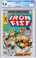 Bronze Age (1970-1979):Superhero, Iron Fist #14 (Marvel, 1977) CGC NM+ 9.6 White pages....