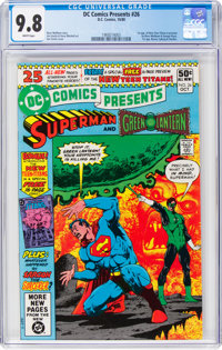 DC Comics Presents #26 Superman and Green Lantern (DC, 1980) CGC NM/MT 9.8 White pages
