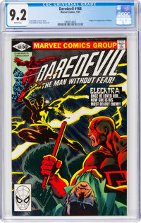 Daredevil #168 (Marvel, 1981) CGC NM- 9.2 White pages