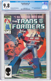 Transformers #1 (Marvel, 1984) CGC NM/MT 9.8 White pages