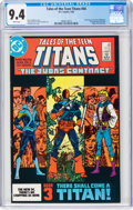 Modern Age (1980-Present):Superhero, Tales of the Teen Titans #44 (DC, 1984) CGC NM 9.4 White pages....