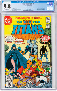 New Teen Titans #2 (DC, 1980) CGC NM/MT 9.8 White pages