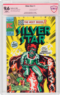 Silver Star #1 (Pacific Comics, 1983) CBCS Signature Series NM+ 9.6 White pages