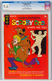 Scooby Doo #7 File Copy (Gold Key, 1971) CGC NM+ 9.6 Off-white to white pages