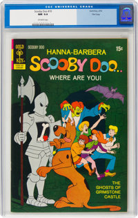 Scooby Doo #10 File Copy (Gold Key, 1972) CGC NM 9.4 Off-white pages
