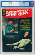 Silver Age (1956-1969):Science Fiction, Star Trek #5 File Copy (Gold Key, 1969) CGC NM+ 9.6 Off-white pages....