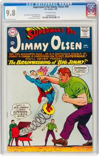 Superman's Pal Jimmy Olsen #90 (DC, 1966) CGC NM/MT 9.8 Off-white pages