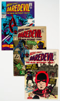 Silver Age (1956-1969):Superhero, Daredevil Group of 14 (Marvel, 1965-76) Condition: Average VG/FN.... (Total: 14 Comic Books)