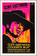 "Movie Posters:Crime, Coogan's Bluff (Universal, 1968). Folded, Very Fine-. One Sheet (27"" X 41""). Crime.. ..."