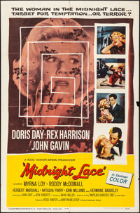 "Midnight Lace & Other Lot (Universal International, 1960). Folded, Fine/Very Fine. One Sheets (2) (27"" X 41..."